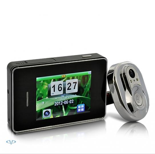 Ультра-тонкий 28 дюймов жк-экран дверной звонок просмотра монитор ци